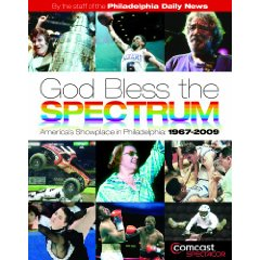 """Follow this link to witness price gouging of a """"USED"""" copy """"God Bless The Spectrum"""" book."""