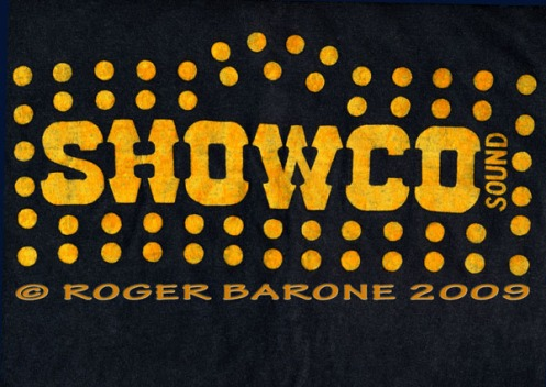 Eric Clapton 1974 Tour T-shirt © ROGER BARONE 2009