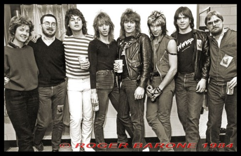 Dokken, featuring Donnie Dokken, George Lynch, Jeff Pilson and