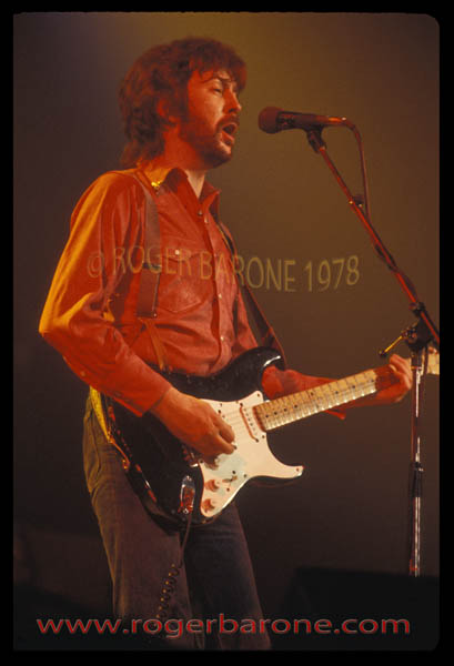 """Eric Clapton at the Spectrum 1978"""