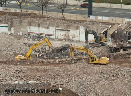 spectrum demolition site