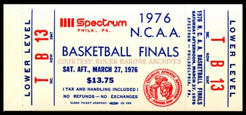 1976 ncaa tickets