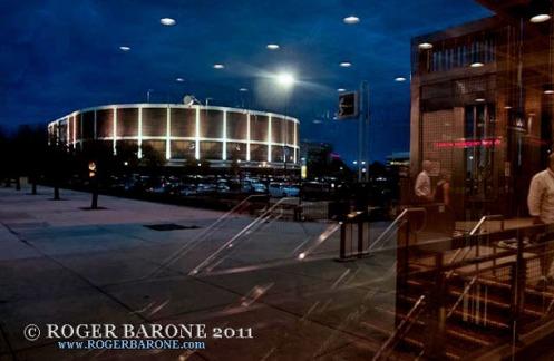 spectrum arena night photo