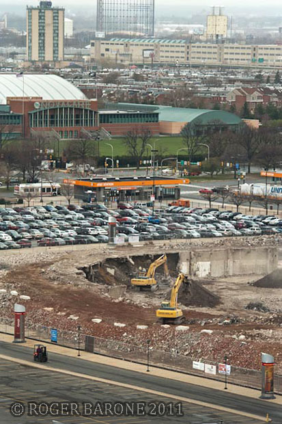 spectrum arena demolition