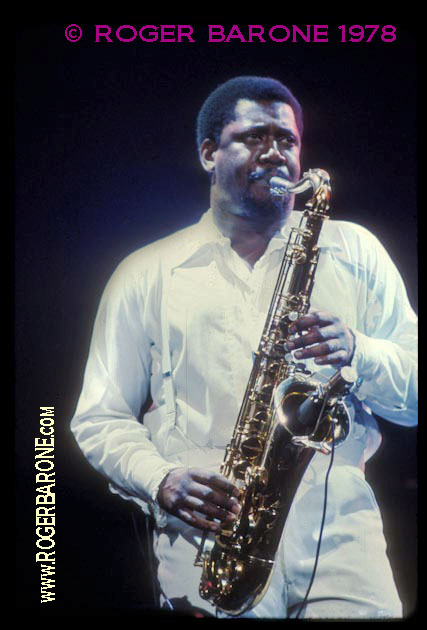 clarence_ clemons spectrum arena 1978