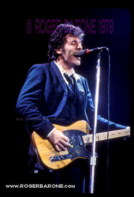 bruce springsteen spectrum arena 1978