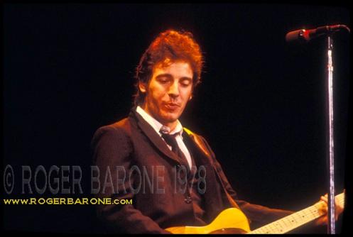bruce springsteen telecaster guitar spectrum arena 1978