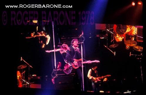bruce springsteen concert photo 1978 spectrum arena