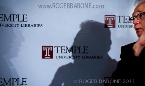Philadelphia & Spectrum Arena Concert Promoter, Larry Magid, author event at Temple University, Philadelphia (10/12/2011)