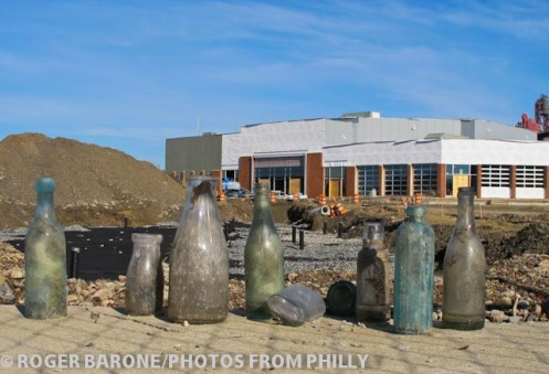 philly live construction continues on spectrum arena site, photo by roger barone © 2011