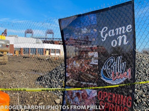 philly live promo banner, photo by roger barone (11/24/2011)