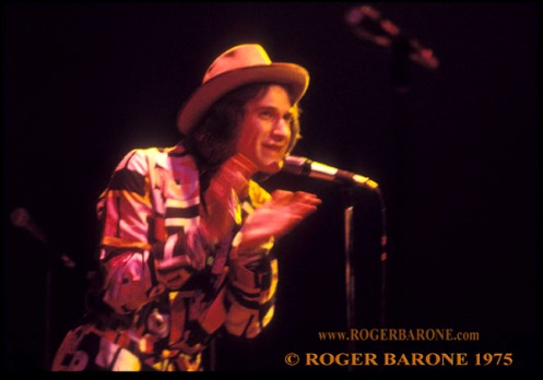 Ray Davies & the Kinks concert photo from philly spectrum by roger barone 1975