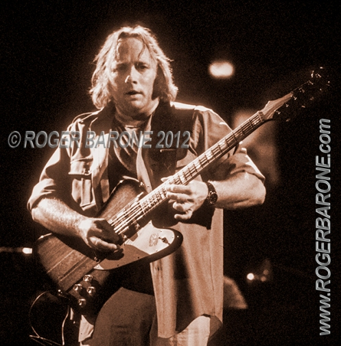 stephen stills plays gibson firebird Spectrum Arena 1982, photo from philly by roger barone