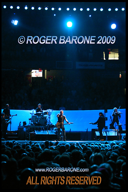Bruce Springsteen & The E Street Band, Spectrum Arena, April 2009, © roger barone