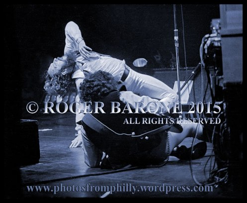 Ian Anderson and Jethro Tull performing at Spectrum Arena, October 3, 1978, © roger barone